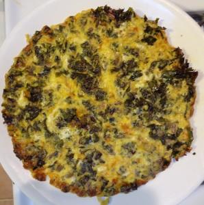 Kale Frittata 1