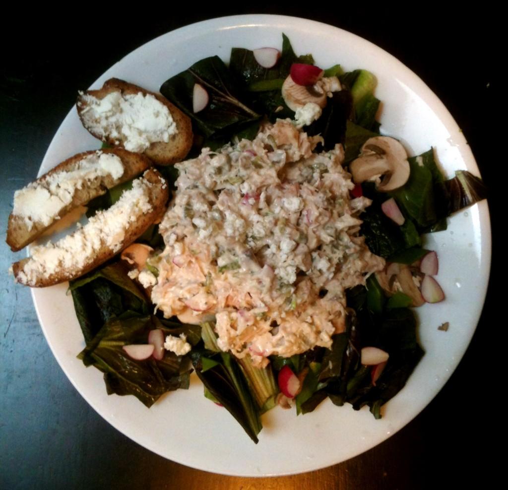 Tuna & Radicchio Salad