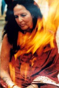Ma Fire Puja
